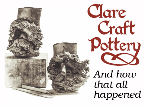Clare Craft Pottery – Part 1. clay andromance